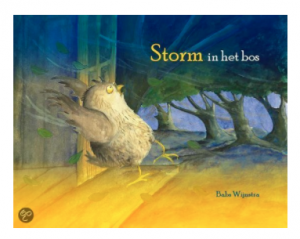 storm in het bos prentenboek