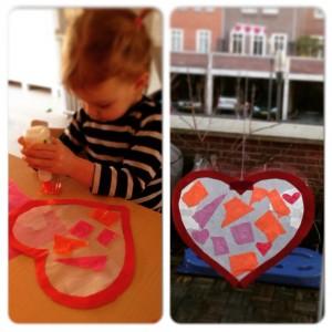 hartje raamhanger valentijnsdag