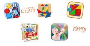 Apps-kleuren-vormen