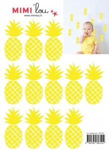 muurstickers_ananas