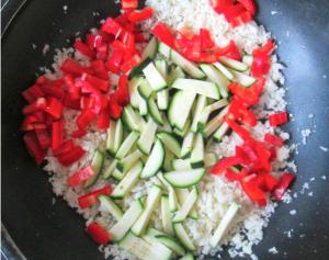 bakken groenten