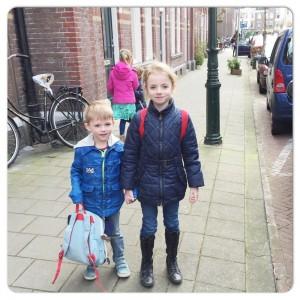 kids uit school