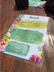 lunchkaart sfeerstal