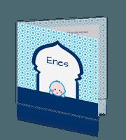 geboortekaartje-arabisch-patroon-poort-oosters-moslim-baby