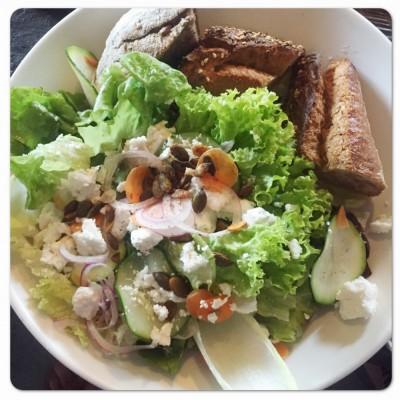 verse salade uit je eigen stad