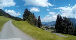 eMountainbiken Brixental uitzicht
