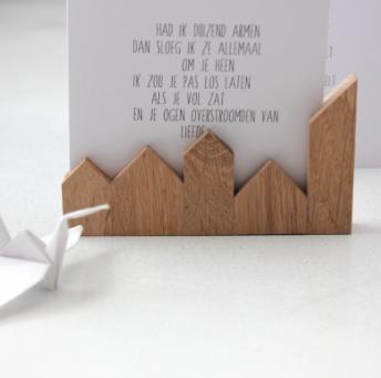 houten huisje kaart