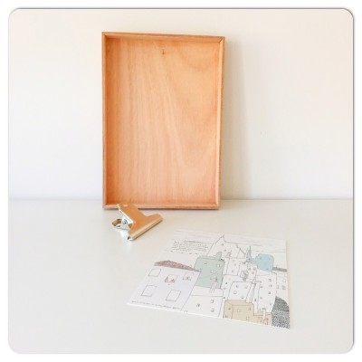plint houten kistje