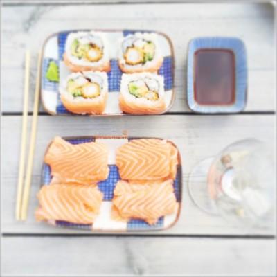 sushi eten vrijdag