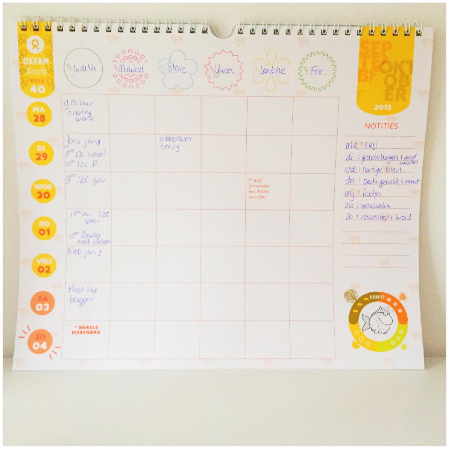 Huishouden plannen en organiseren
