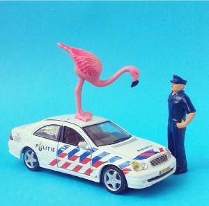 aflamingoaday politie