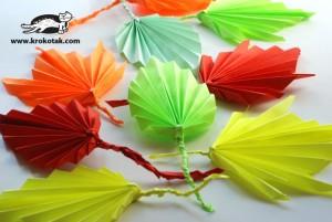 herfstbladeren papier DIY