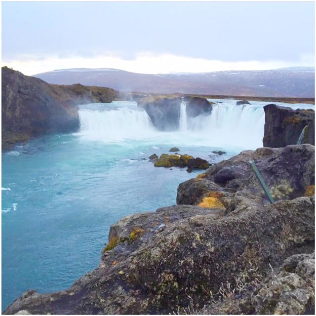 godafoss waterval Noord-IJsland hoogtepunt