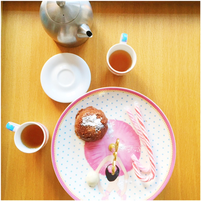 teaparty cupkes klaargezet