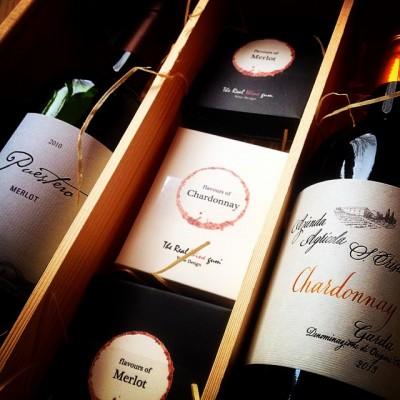 wijnkistje gums en wijnen