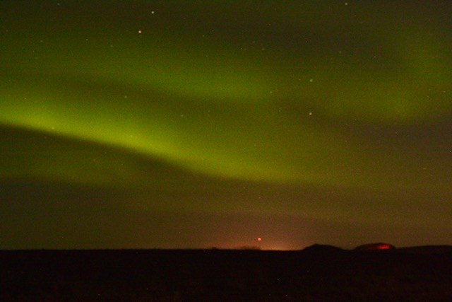 northern lights iceland okt 2019