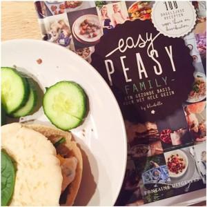 easy peasy kookboek pitta broodje