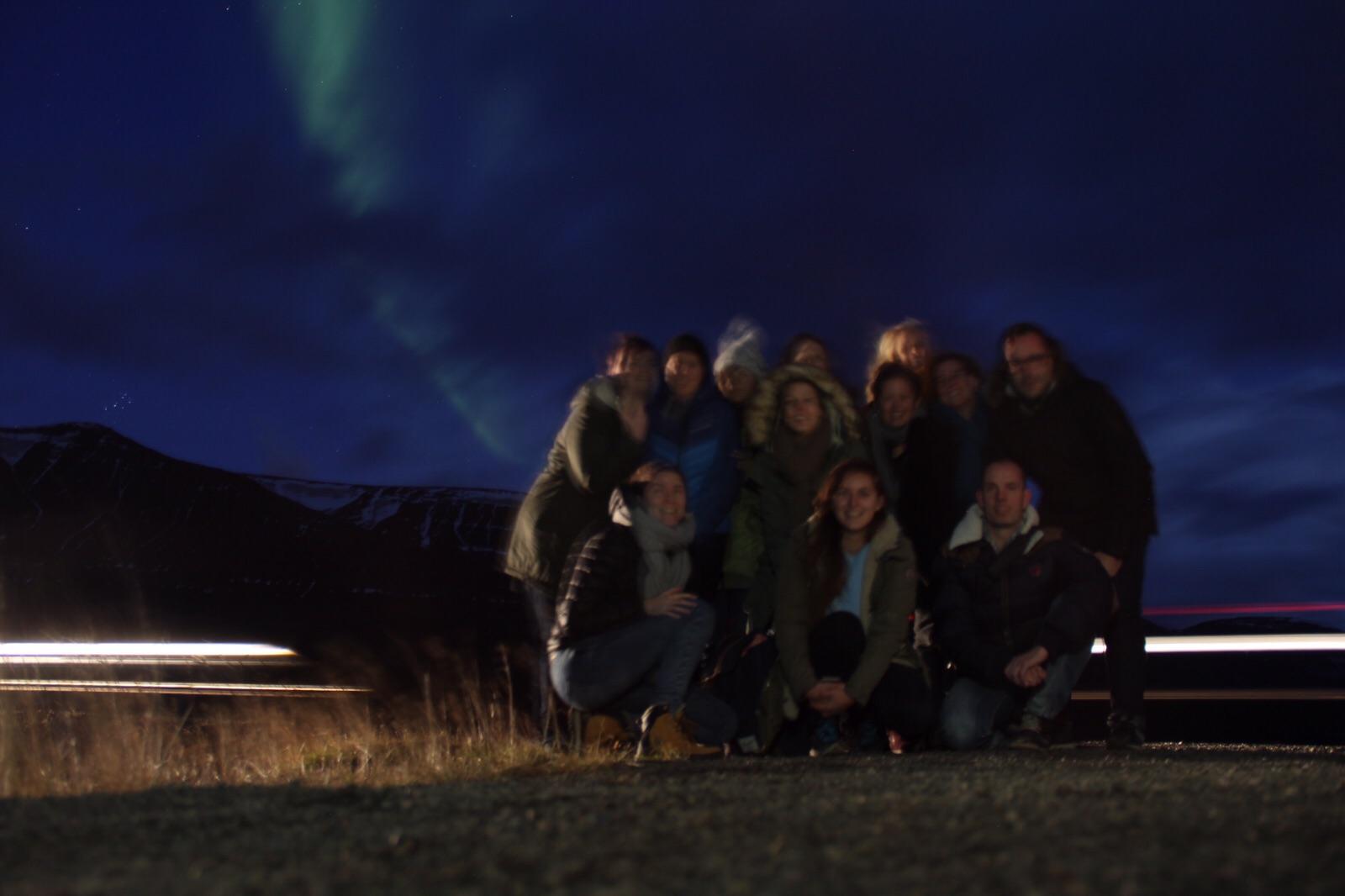 groep persreis ijsland noorderlicht