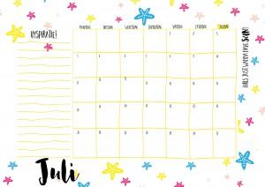 kalender 20167