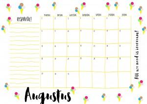 kalender 20168