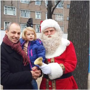kerstman kerstmarkt 2015
