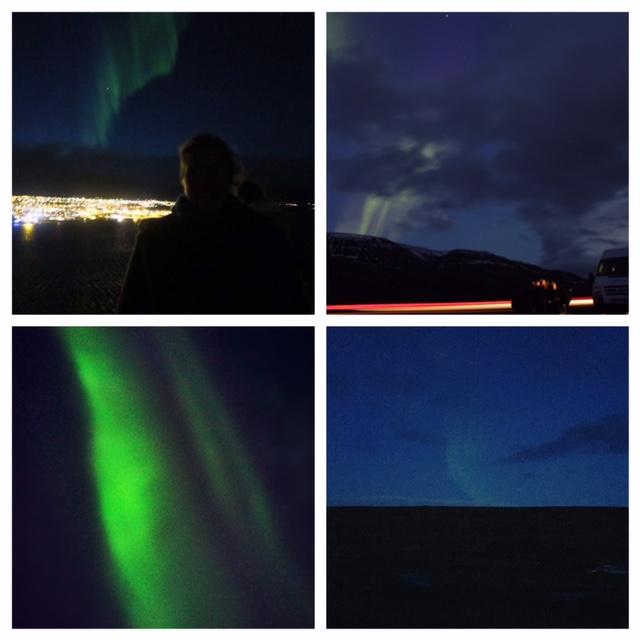 noorderlicht collage ijsland