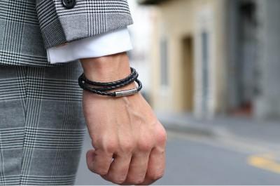 zwarte-dunne-lange-gevlochten-lederen-armband-abb
