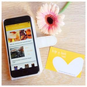 app en visitekaartje