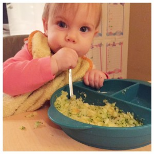 Fee at lekker aardappeltjes en broccoli, zelf!