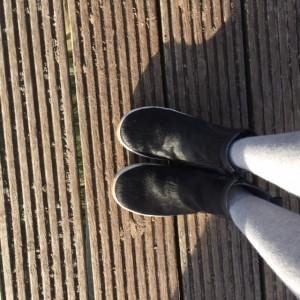 zwarte schoenen sterre