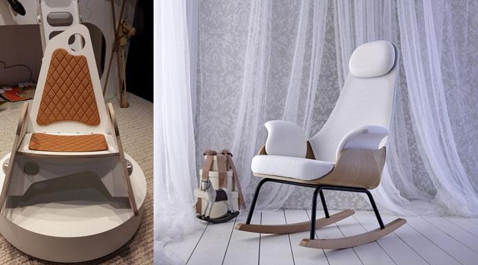 de gaafste schommelstoelen voor iedere (baby)kamer - hip & hot, Deco ideeën