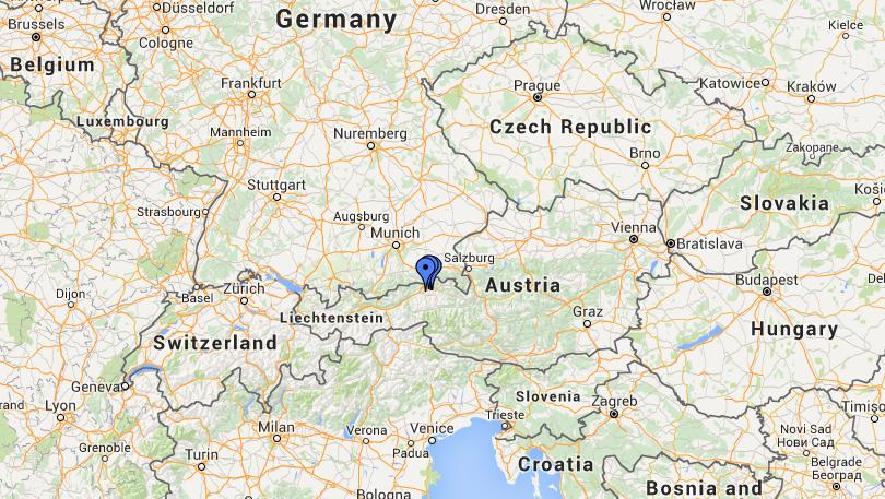 Wilder Kaiser Oostenrijk kaart
