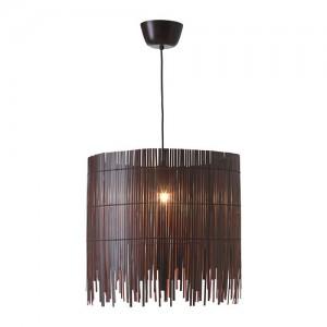 Ikea Rotvik Bamboe hanglamp bruin