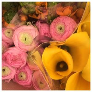 bloemen gekocht