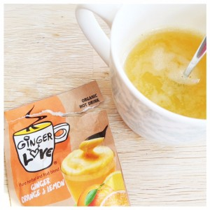 Gember-sinaasappeldrank uit België