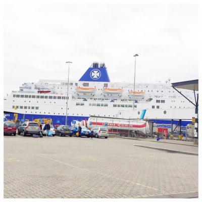 boot dfds seaways