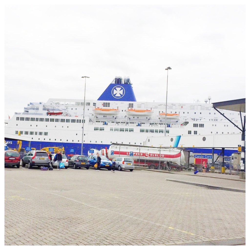 dfds seaways to newcastle