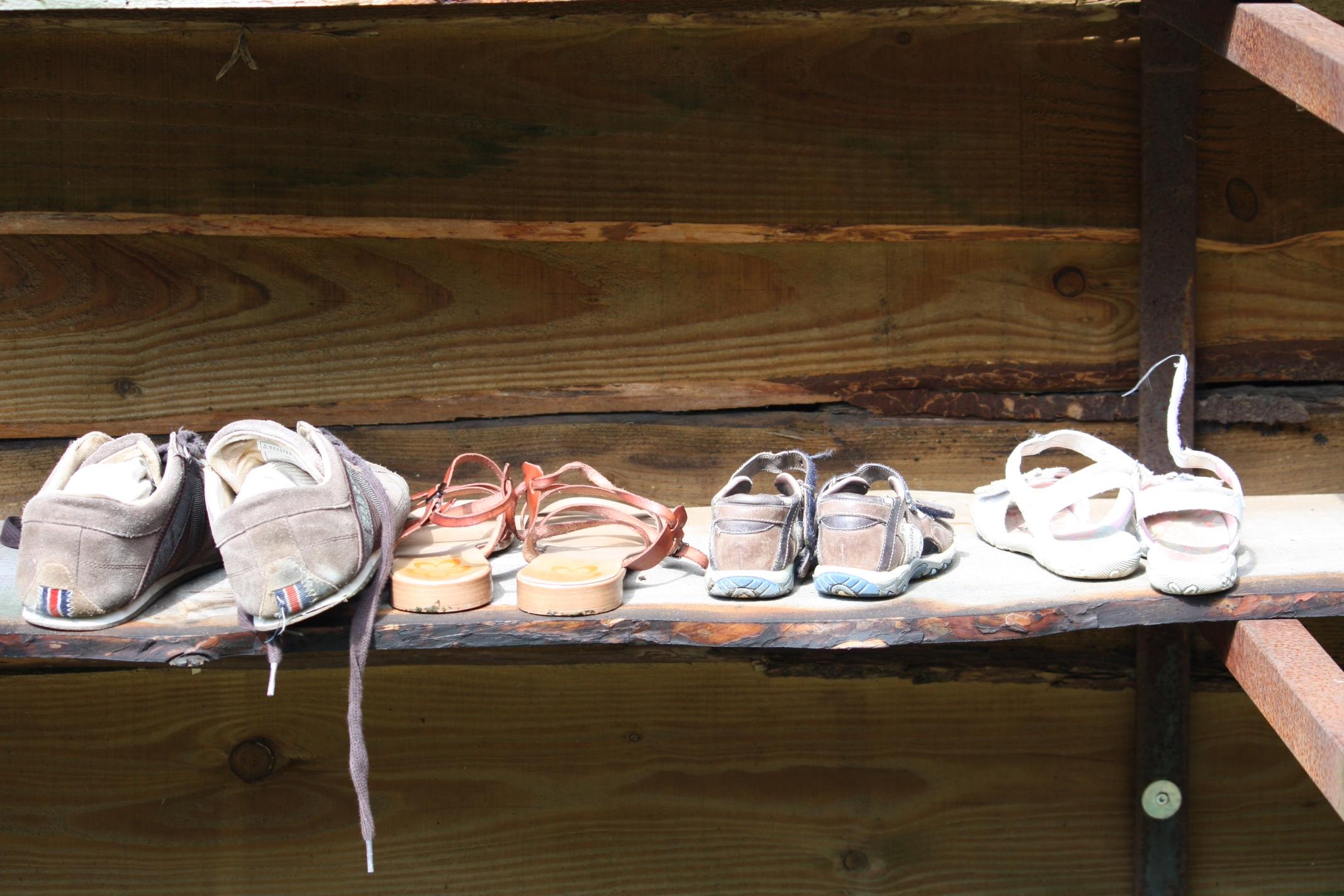 toon kast schoenen