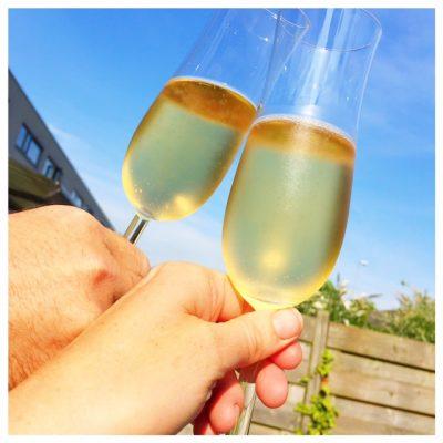 champagne huis gepasseerd