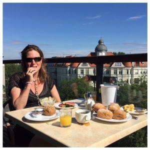 ontbijt buiten come inn hotel berlijn
