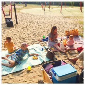 picknick in westbroekpark
