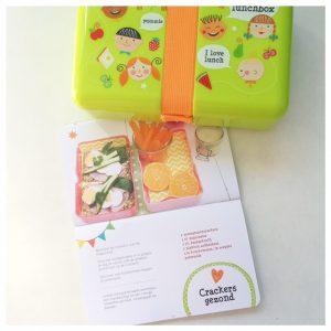 happy lunchbox crackers