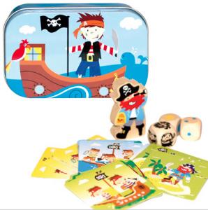 piratenspel in een tinnen blikje