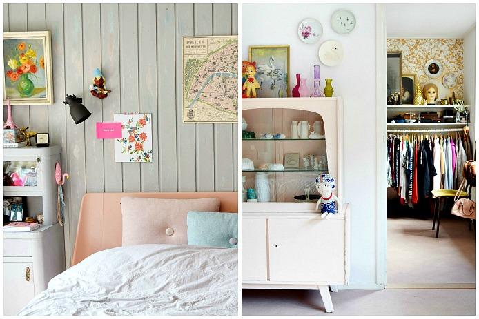 Slaapkamer Franse Stijl : De slaapkamer van Corine is in Franse stijl ...