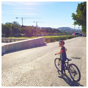 fietsen in lissabon