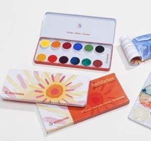 Stockmar Plakkaatverf 12 kleuren