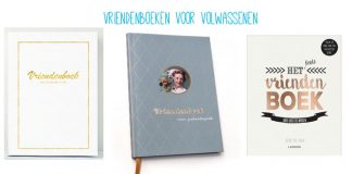 De leukste vriendenboeken voor volwassenen