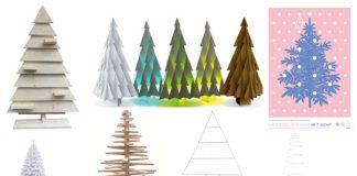 Inspiratie voor alternatieve kerstbomen