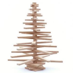 houten-kerstboom-3d