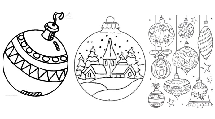 kleurplaat-kerstballen